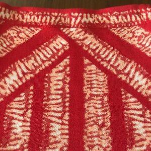 BCBG Rex Knit Bodycon Skirt